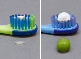 toothpaste and fluoride